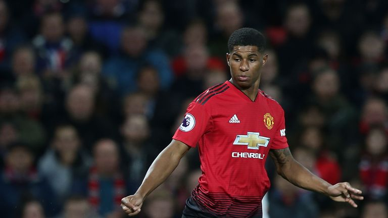 Marcus Rashford has shone for Man Utd in recent weeks