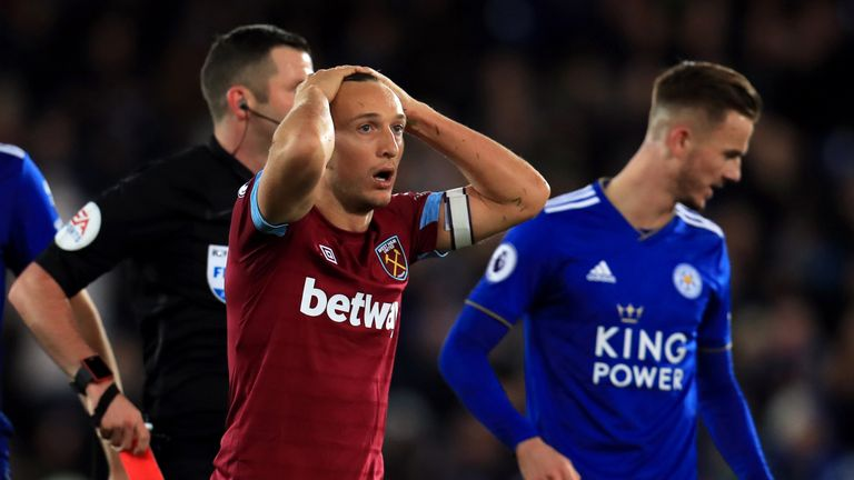 Noble says he is not concerned about regaining his place after his recent red card against Leicester