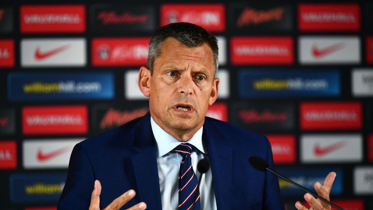FA chief executive Martin Glenn says the initiative will showcase the best of football
