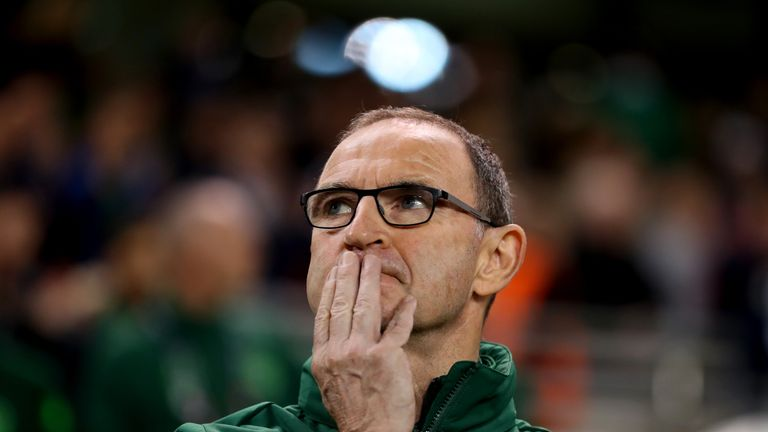 Martin O'Neill's Ireland have won one of their last nine matches