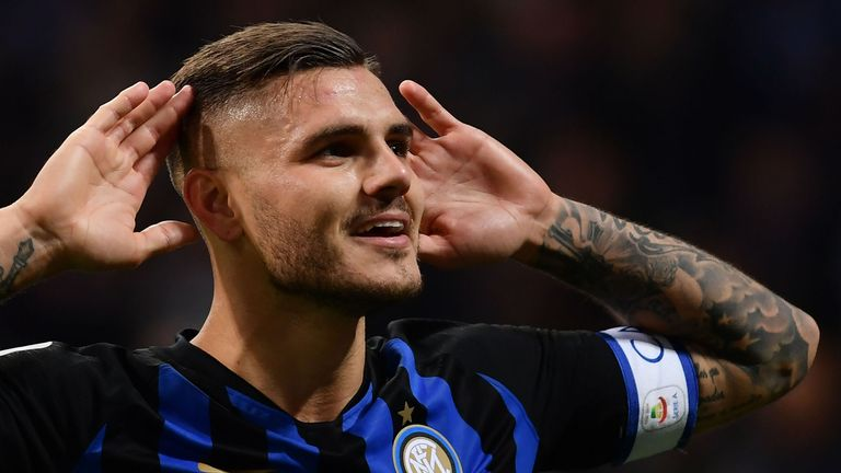 Inter vice-president Javier Zanetti says club are not aware of any interest in striker Mauro Icardi