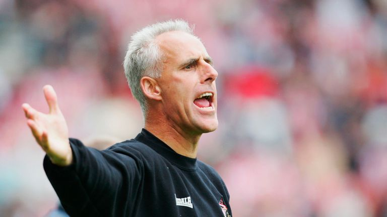 Mick McCarthy was in charge of Sunderland between 2003 and 2006