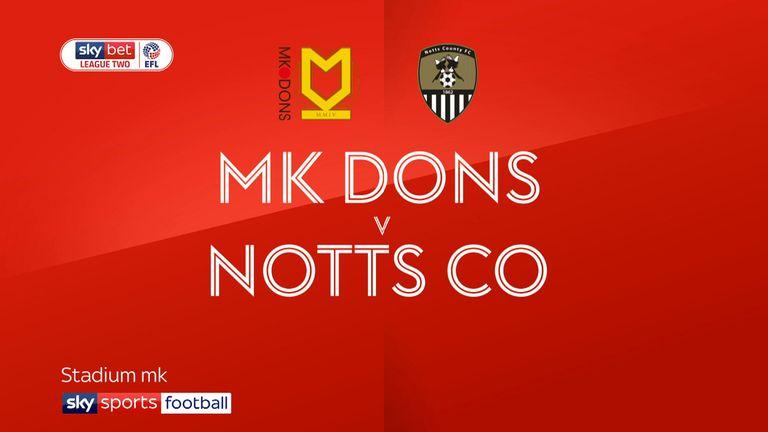 MK Dons v Notts County