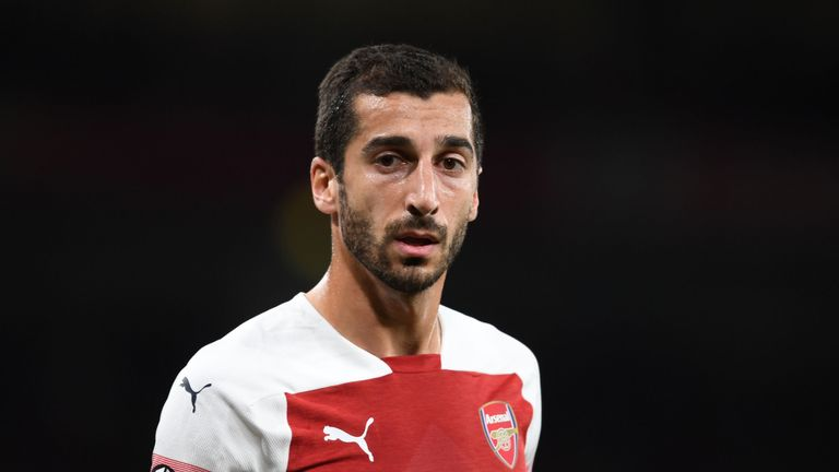Qarabag vs Arsenal: Why Aubameyang, Ramsey, Mkhitaryan will miss Europa League tie