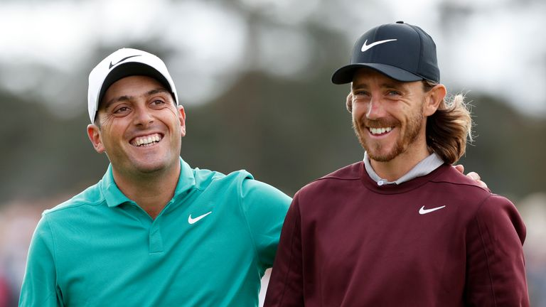 Fleetwood got the better of Ryder Cup partner Francesco Molinari