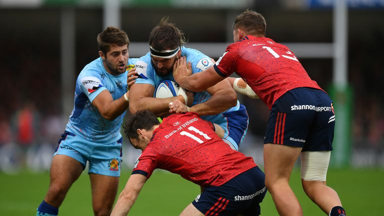 Exeter and Munster had to settle for a draw in their opening Champions Cup clash