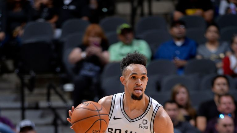 Derrick White could miss up to two months with a right heel injury