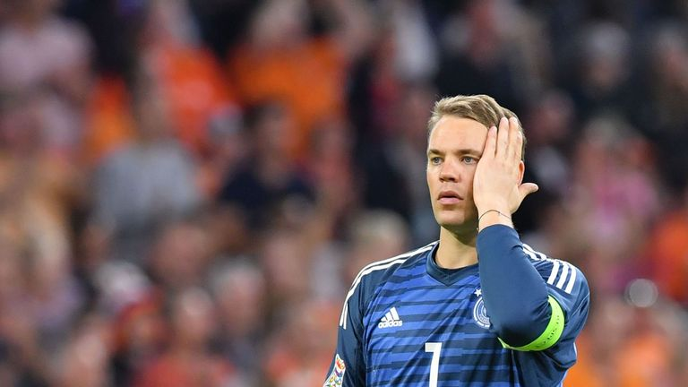Manuel Neuer was criticised for his performance for Germany against the Netherlands
