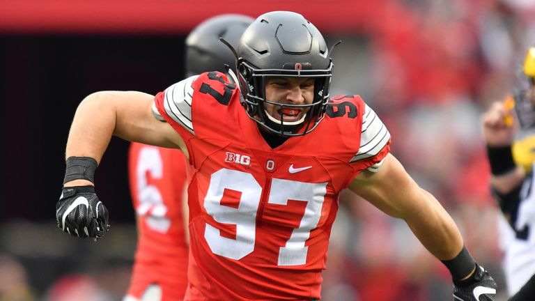 Is Ohio State defensive end Nick Bosa set to be drafted No 1 overall?