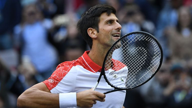 Novak Djokovic dispatched Kevin Anderson to reach the last four in China