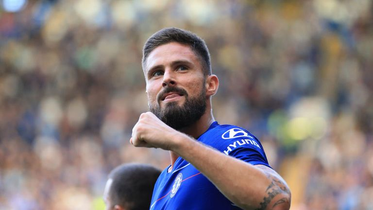 Olivier Giroud says he is fully focused on securing more game time at Chelsea