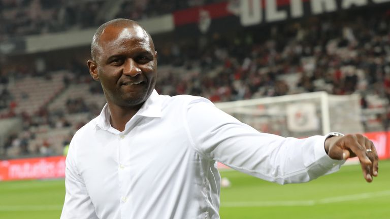 Patrick Vieira's Nice are 14th in Ligue 1 after defeat by Marseille