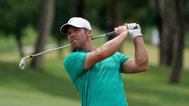 Paul Casey is in contention at the CIMB Classic