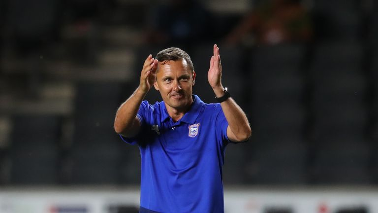Paul Hurst oversaw an Ipswich win that defied the stats