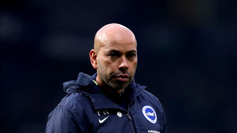 Hughton's assistant Paul Nevin has had the opportunity to work alongside England boss Gareth Southgate
