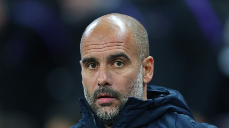 Pep Guardiola's City are favourites to win the title again