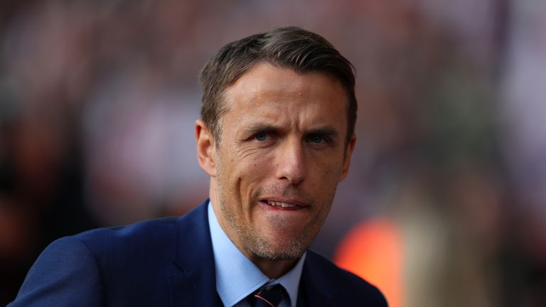 Two England debutants scored for Phil Neville's side in the 3-0 win over Austria