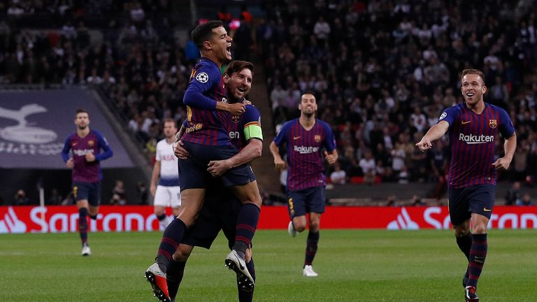 Barcelona have generally signed high-profile foreign players recently including Philippe Coutinho