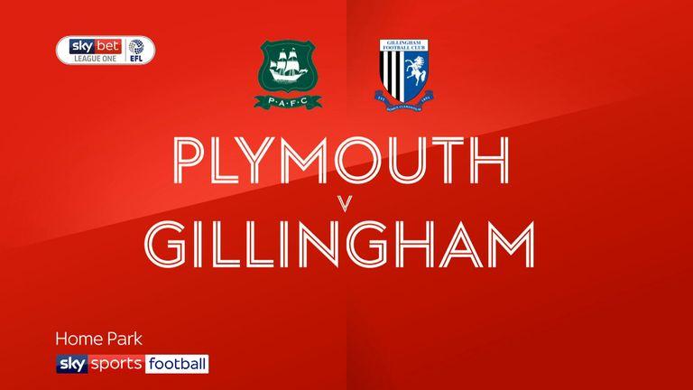 Plymouth v Gillingham