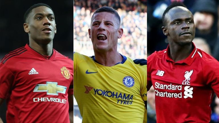 Premier League Team of the Weekend: Anthony Martial, Sadio Mane, Ross Barkley