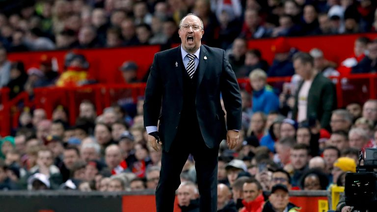 Benitez has warned his players there's still a long way to go