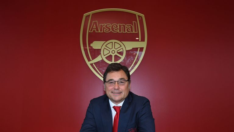 Raul Sanllehi admits Arsenal will have to review their transfer plans