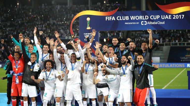 Real Madrid won the FIFA Club World Cup in 2017