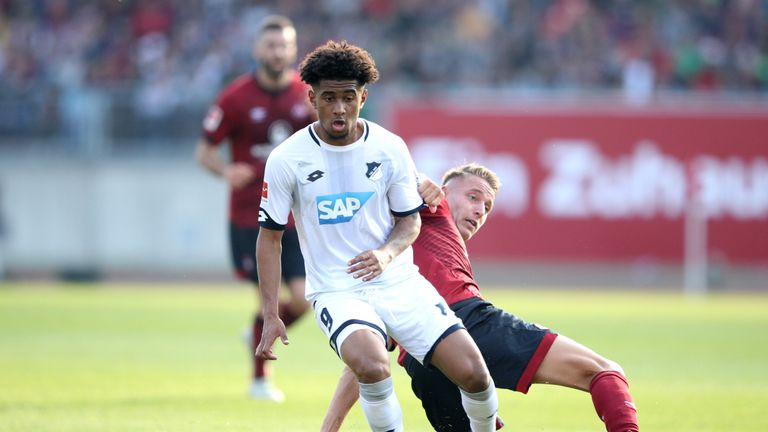 Arsenal's Reiss Nelson is excelling on loan at Hoffenheim