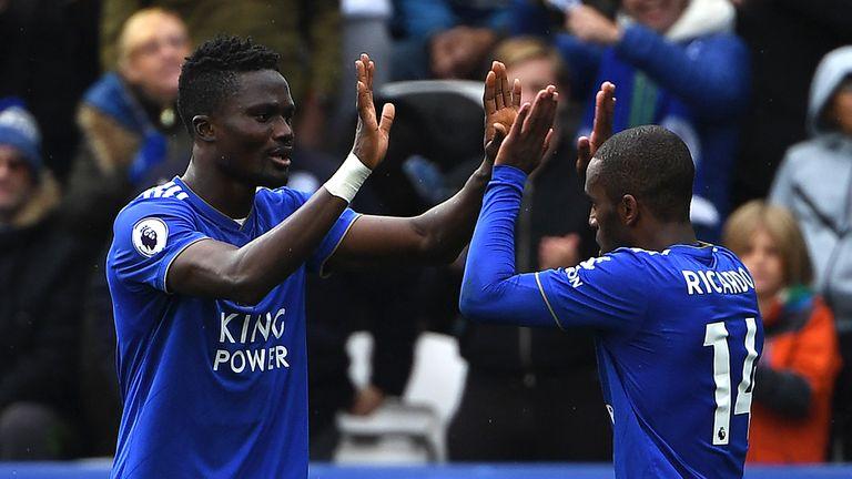 Ricardo Pereira hauled Leicester level but they were eventually beaten