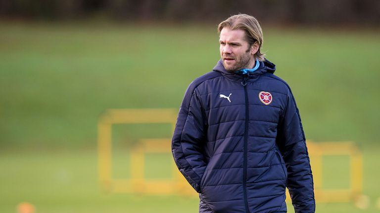 Neilson led Hearts to the Championship title in his first spell in charge