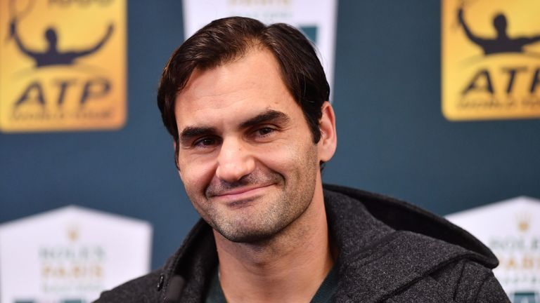 Federer boost for Paris Masters; Chardy loses to Verdasco