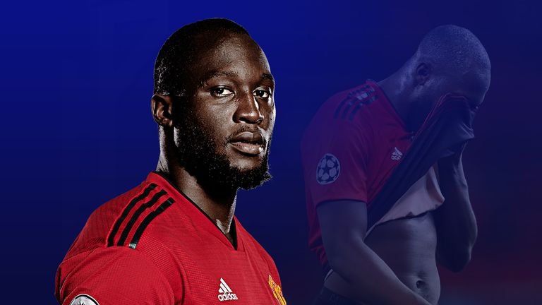 Romelu Lukaku's form for Manchester United is a concern
