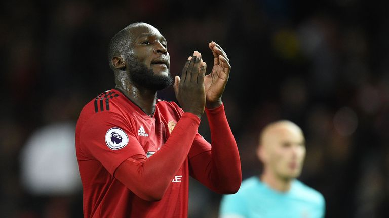 Romelu Lukaku still gets points on the board for Man Utd