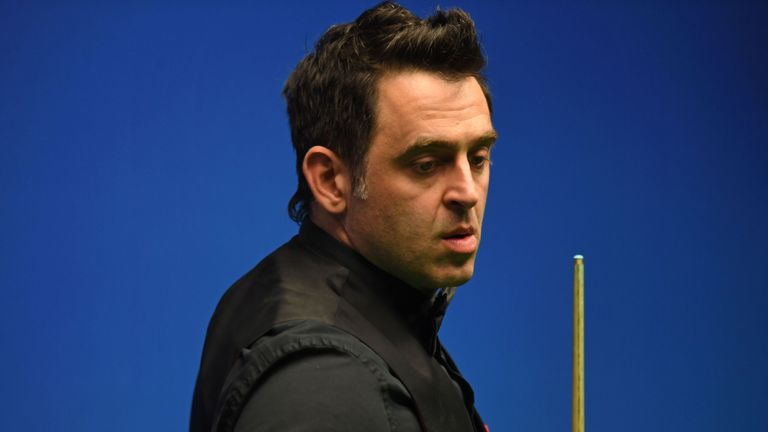 Ronnie O'Sullivan nailed the 15th maximum break of his career in Crawley on Wednesday