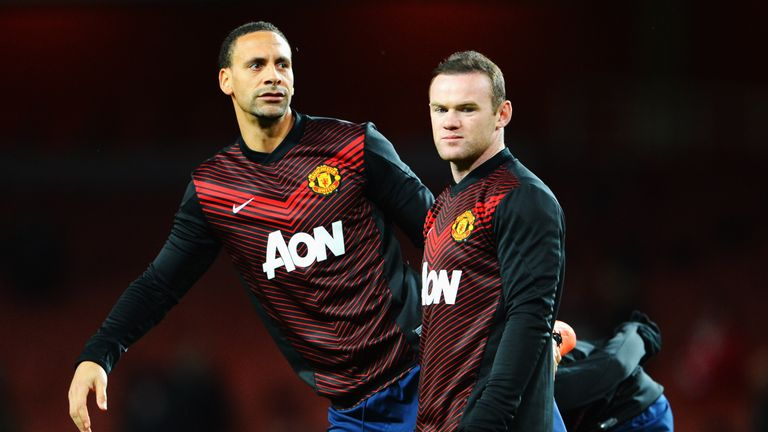 Wayne Rooney says he and Rio Ferdinand were among those that ran the Man Utd dressing room