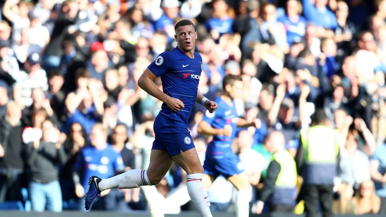 Sarri thinks Ross Barkley is an important player for Chelsea - and also for English football