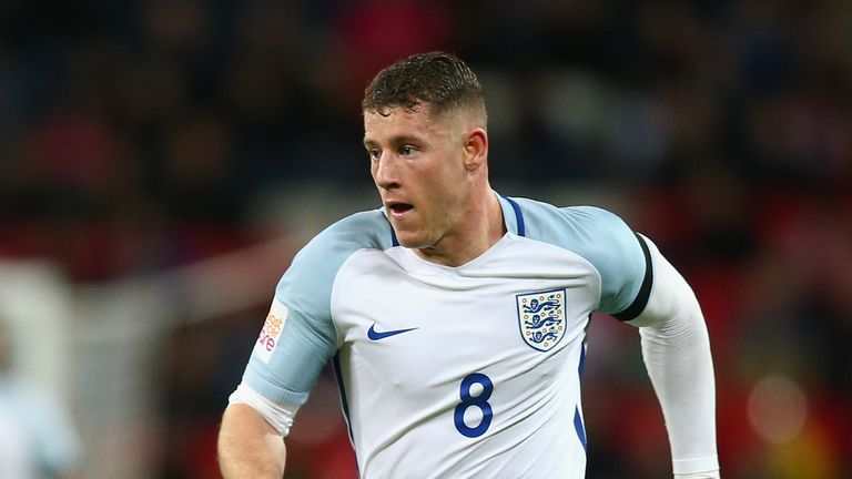 Ross Barkley missed the World Cup but is back in England contention