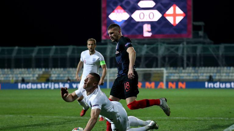 Did Ross Barkley dive against Croatia?