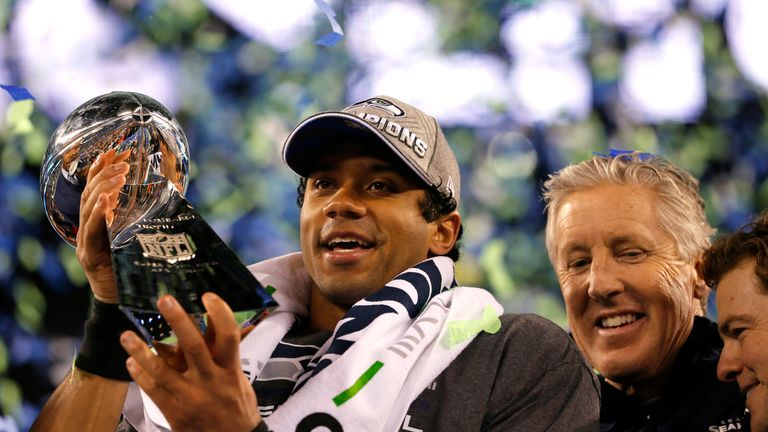 Russell Wilson won the Super Bowl in his second year as a Seahawk
