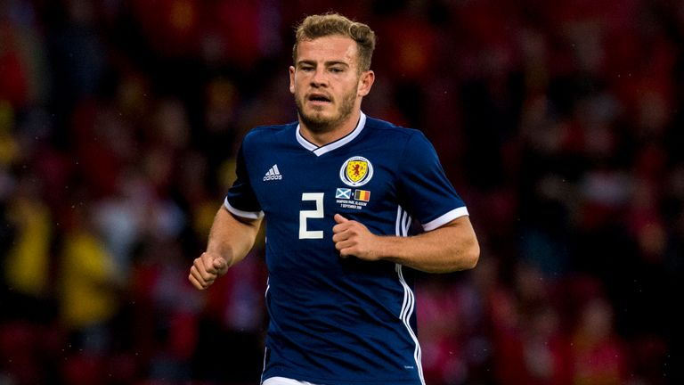 Ryan Fraser will miss matches against Israel and Portugal