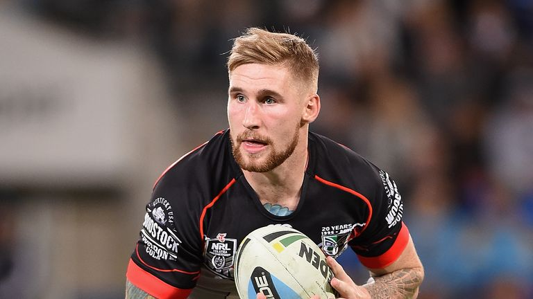 Sam Tomkins is back in the England squad for the first time in four years