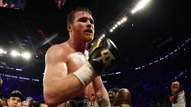 Canelo to move up in weight to take on Fielding on Dec