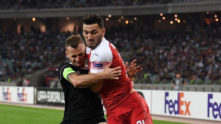 Fellow defender Sead Kolasinac will also be assessed in midweek
