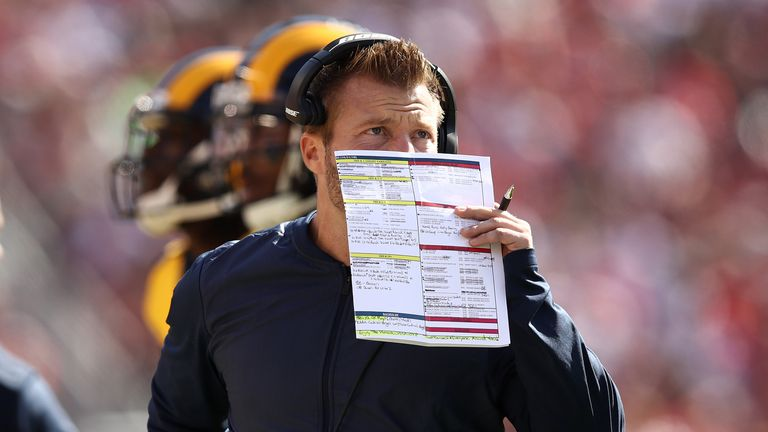 There are not many play-callers better than Rams' head coach Sean McVay