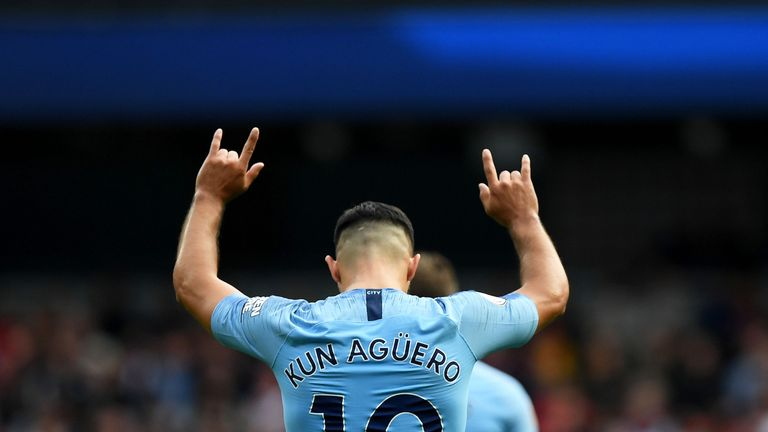 Sergio Aguero has changed his playing style under Aguero