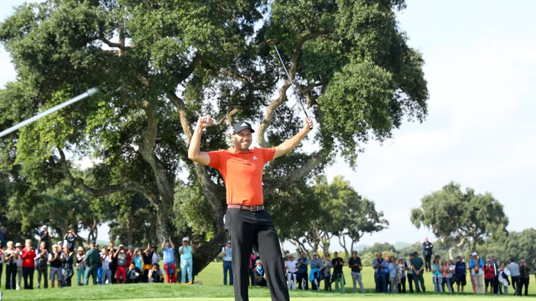 Garcia wins third Valderrama Masters title in Race to Dubai rankings