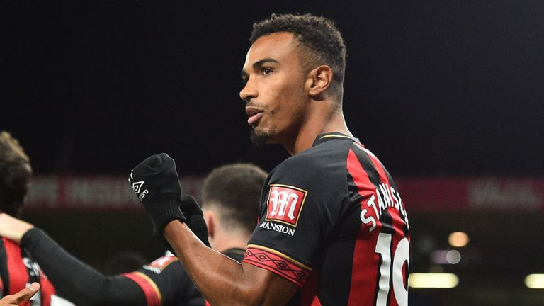Junior Stanislas scored a late penalty to ensure Bournemouth collected their fourth Premier League win of the season