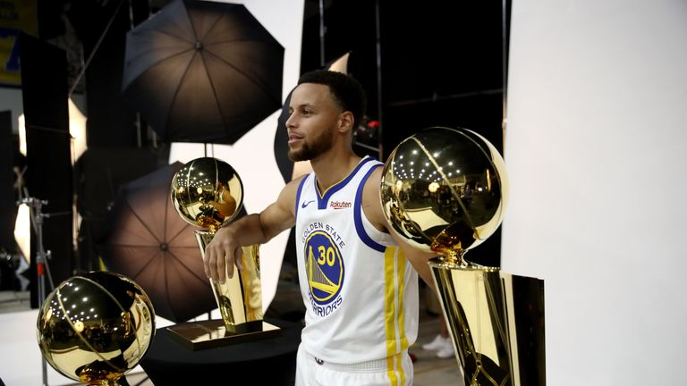 Steph Curry will feature on Sky Sports' opening night of NBA coverage
