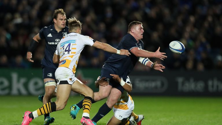 Tadhg Furlong showed all of the skills at the RDS on Friday night