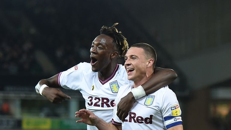 James Chester and Tammy Abraham were on the scoresheet for Villa